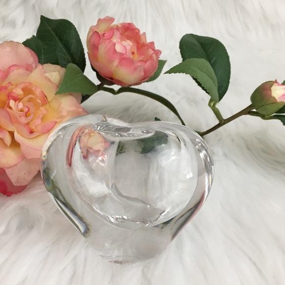 Handcrafted Lead Crystal Bud Vase